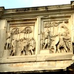 haranguing the troops arch of constantine